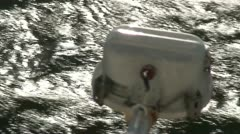 Lifeboat on a cruise ship 21 - stock footage