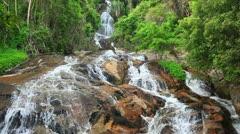 Na Muang 2 waterfall, koh Samui, Thailand Stock Footage