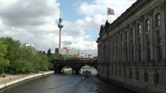 museum Island, Berlin - stock footage