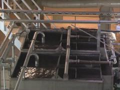 City water heating modern Stock Footage