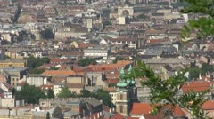 Architecture of Budapest, Hungary Stock Footage