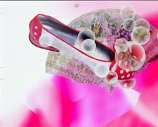 Fashion style graphics - stock footage
