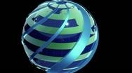 Globe Peeled Stock Footage