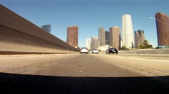 Freeway Drive Time-Lapse 01 HD - stock footage