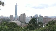 Stock Video Footage of Taipei 101