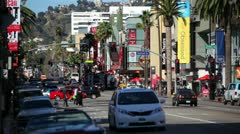 Hollywood Blvd 09 HD Stock Footage