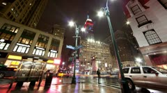 Herald Square in New York City Stock Footage