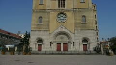 Panoramic of Qingdao Catholic Church. Stock Footage