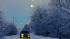 Winters Tail 3 Stock Footage
