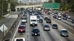 LA Freeway 21 HD - stock footage