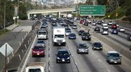 LA Freeway 21 HD Stock Footage