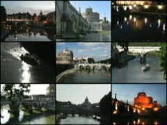 Tiber montage new 320x240 Stock Footage