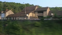Highspeed train in France Stock Footage