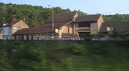 Stock Video Footage of Highspeed train in France