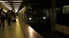 subway - budapest - stock footage