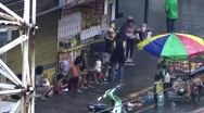 Stock Video Footage of People on a busy street in Malate Manila in the  Philippines