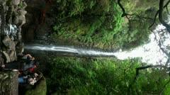 Waterfall verticale 20110426 150220 Stock Footage