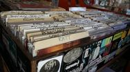 Stock Video Footage of Record store - vinyl records