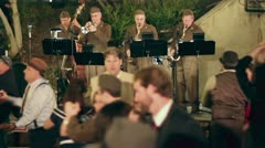 Swing Band Stock Footage