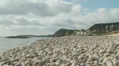 Devon landscape (two) zoom Stock Footage