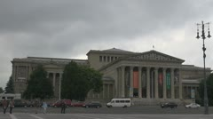 Museum of Fine Arts, Budapest, Hungary Stock Footage