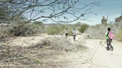 Desert Trail Stock Footage