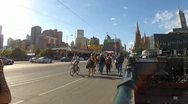 Stock Video Footage of Mebourne pedestrians city.mp4