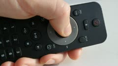 Remote Control 2 Stock Footage
