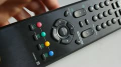 Remote Control Stock Footage