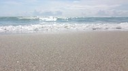 Stock Video Footage of Ocean waves - miami beach
