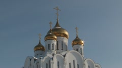 Church of St. Stephen of Perm Stock Footage