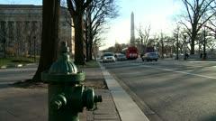 Washington monument, Obelisk 11 - stock footage