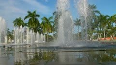 Water fountain 1 Stock Footage