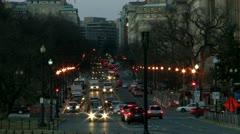 Traffic in Washington DC 5 - stock footage