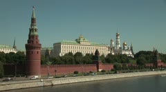 Moscow Kreml Stock Footage