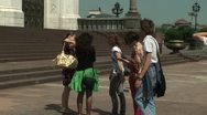 The Cathedral of Christ the Savior Stock Footage