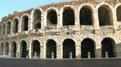 Arena of Verona Stock Footage