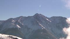 Swiss Mountain Pan Stock Footage