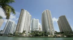 Brickell Key Stock Footage