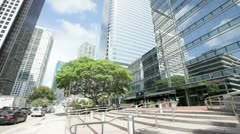 Suntrust Bank Brickell Miami Stock Footage