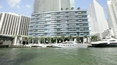 Epic Condominium Downtown Miami Stock Footage