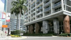 Icon Viceroy at Brickell Stock Footage
