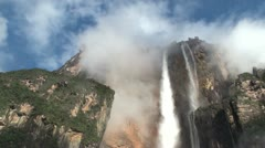 Angel Falls. Canaima National Parc. Venezuela. Stock Footage