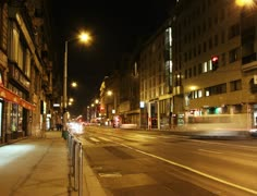 4K European City Budapest Hungary At Night Timelapse 15 Stock Footage