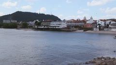 Casco Viejo Panama City Stock Footage