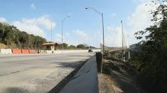 Centennial Bridge Panama Stock Footage