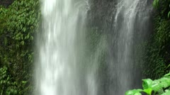 Waterfall in the jungle. Stock Footage