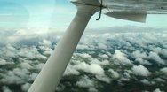Stock Video Footage of bird's-eye view from the glider