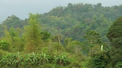 High mountains with jungle on Panay island in the Philippines Stock Footage
