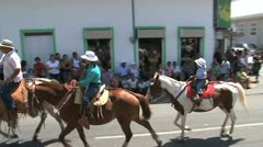 Fiestas civicas Stock Footage